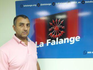 El Jafe Nacional de la Falange entrará en prisión por la protesta en Blanquerna