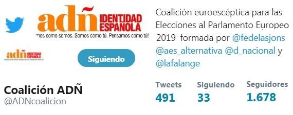 Twitter Oficial coalición ADÑ