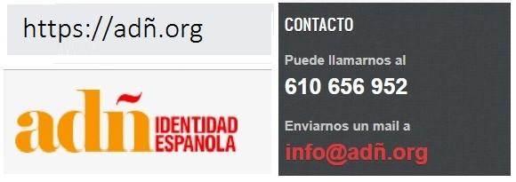 Web oficial coalición ADÑ